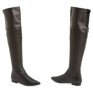 Chinese Laundry York Leather Over the Knee Boots